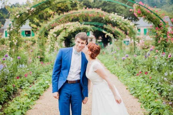 Astrid & Gwenaël - Mariage à Giverny dans les jardins de Monet
