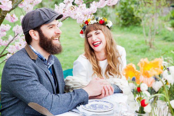 Shooting d'inspiration mariage - Mariage au potager des Lilas